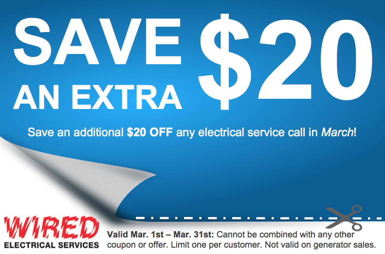 Wired Electric | Wired Electrical Services Houston Tx Coupons