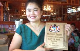 We have won the Kilohana Award and been named Hawaii on TV's best Thai Food Restaurant for 2012.