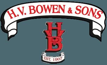 H.V. BOWEN & SONS logo