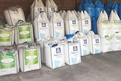 fertilisers stored at safe facility