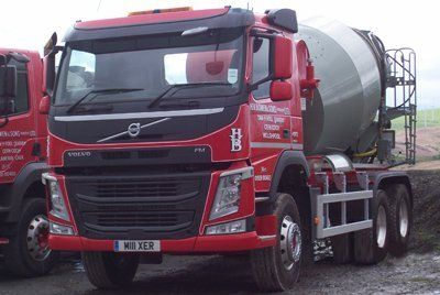 ready mix concrete van