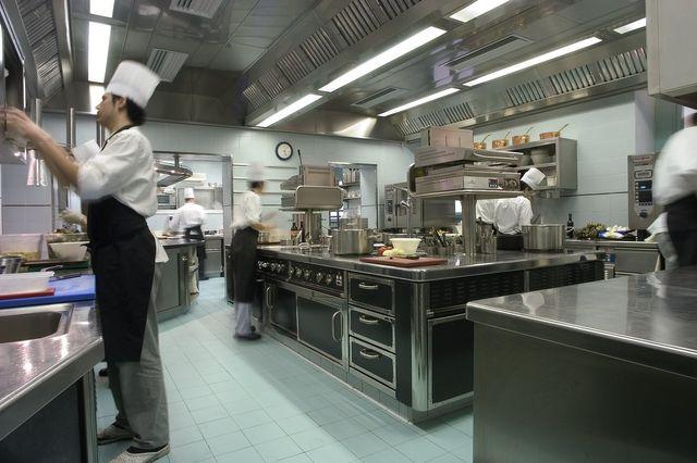 una cucina vuota