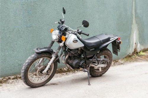 moto-YAMHA TW125-A1 MANUALE