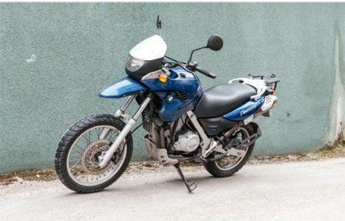 moto-BMW GS 650-A2 MANUALE