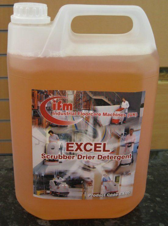 EXCEL scrubber drier detergent