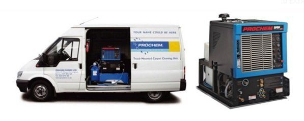 Truck Mounted Carpet Cleaning Systems - Fitting and Maintenance Included