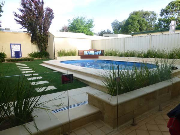 Above ground pools australia wide classic pools - Modern above ground pools ...