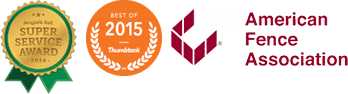 Angies List Super Service Award | Best of 2015 Thumbtack | American Fence Association
