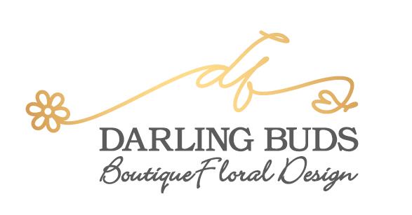 Darling Buds Boutique Floral Design logo
