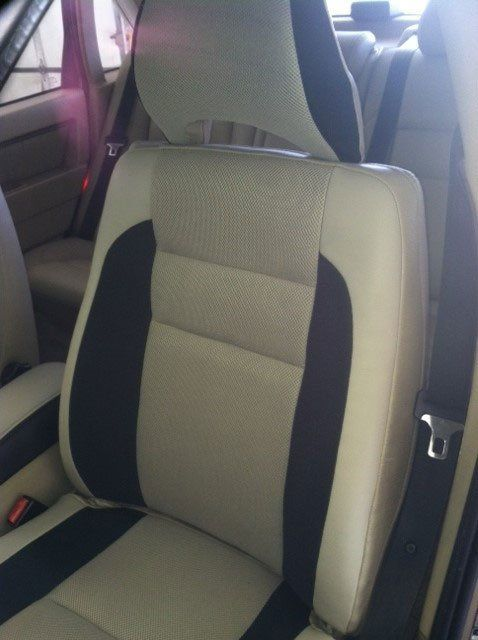 Katzkin custom leather car upholstery