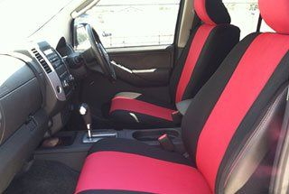 Racing seats after leather upholstery