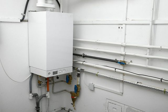Boiler in a home