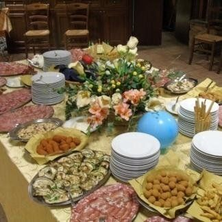 Sala a buffet