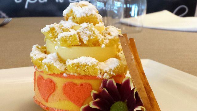 Dessert al Ristorante Pizzeria Villa Del Gusto a Poggio Torriana