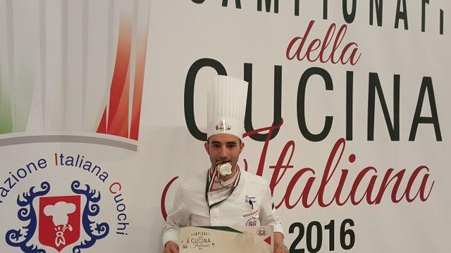 Chef Domenico campione d'Italia