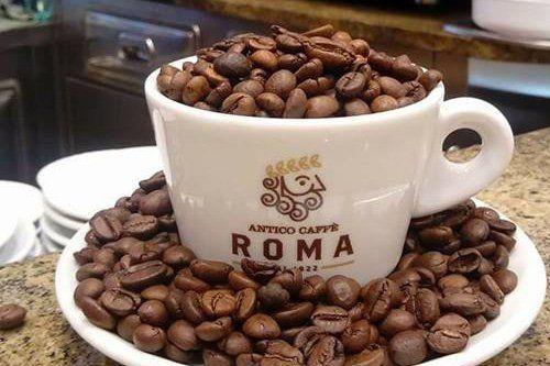 chicchi di caffé Roma