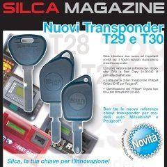 delle chiavi e una scritta Nuovi Transponder