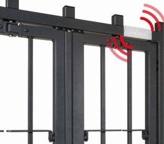 una griglia con una sistema di sicurezza