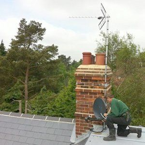 Satellite dish repairs