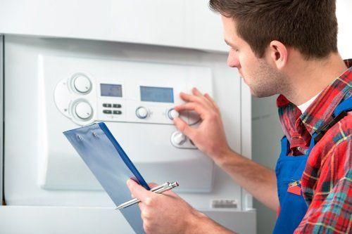 Regolando il riscaldatore