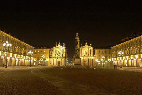 piazza grande a torino