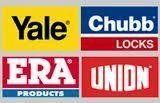 Yale, Era, Chubb locks and Union icon