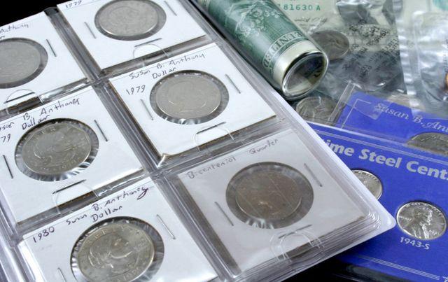 Collectable coin boxes