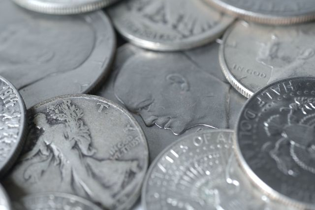 Silver coins from our Wellington coin dealers