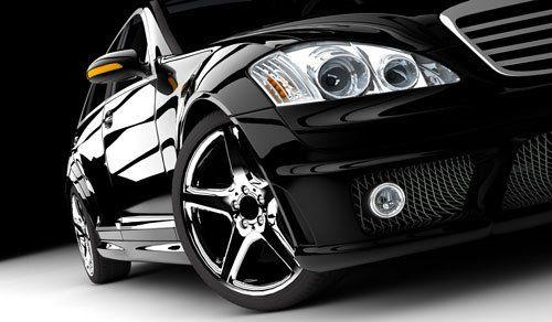 una macchina nera