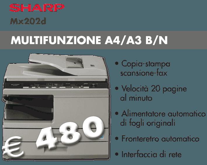 Sharp Mx202d