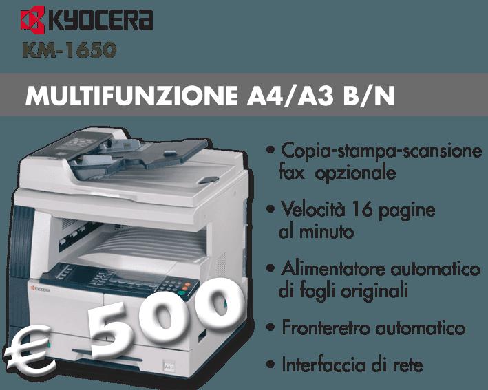 Kyocera KM-1650