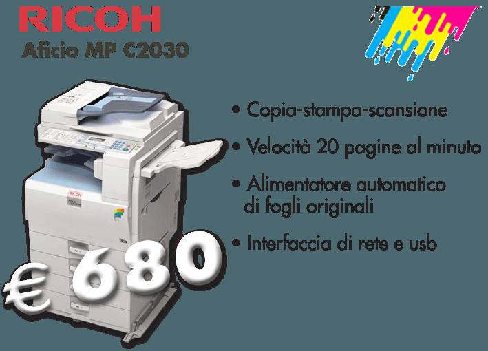 Ricoh Aficio MP C2030