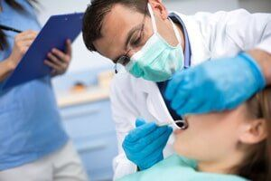 Periodontal — Dentist Checking Teeth in Owensboro, KY