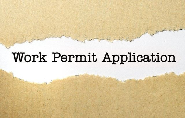 work permit application