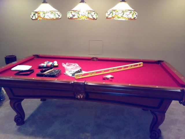 Pool Table Disassembly And Reassembly Experienced Professionals - Dismantle pool table
