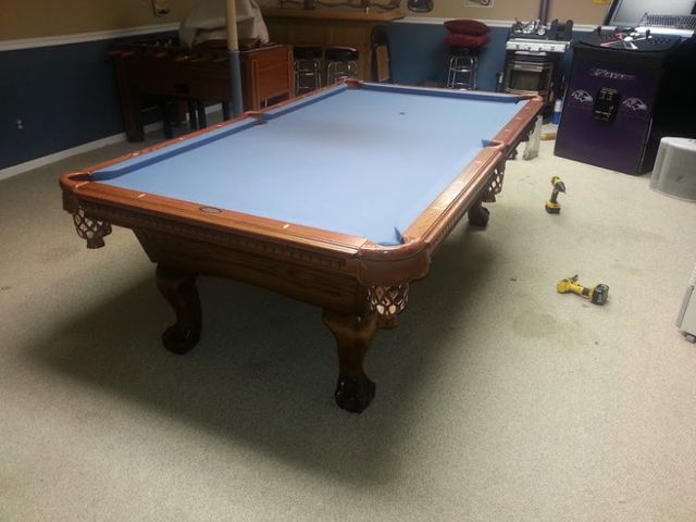 Pool Table Disassembly And Reassembly Experienced Professionals - Mobile pool table