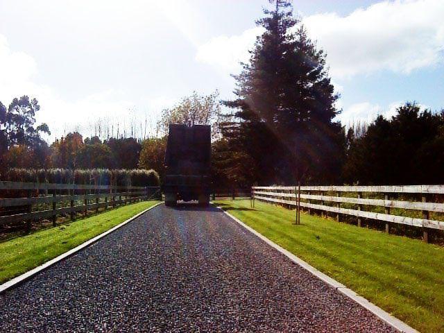 asphalt driveway in Waikato
