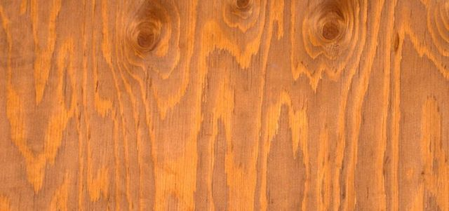Knots and grain of timber flooring
