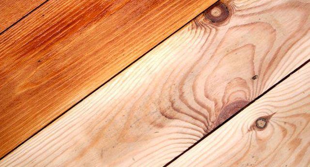 Floorboards in the Bay of Plenty during floor sanding process