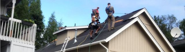 Roof after unbeatable roofing services in Anchorage, AK