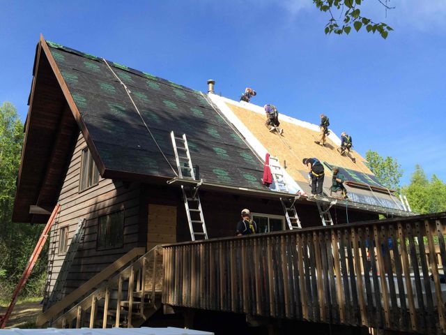 Roofing providing by the most reliable rooftop professionals in Alaska
