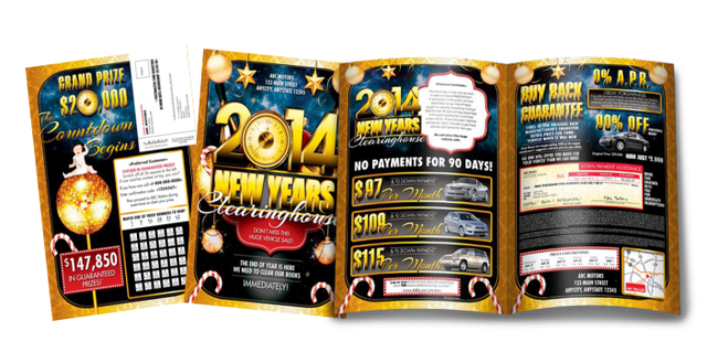 New Years Clearinghouse Promotion