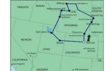 tour west america
