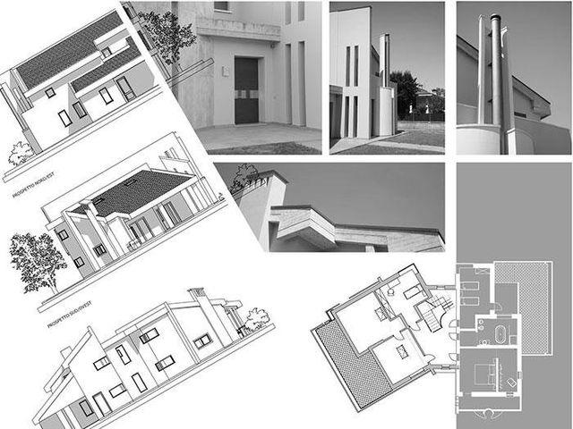 il disegno di un progetto di una casa