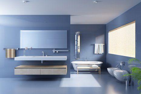 bagno moderno e di design