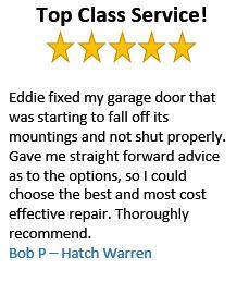 Customer Reviews Cejays Garage Door Repairs