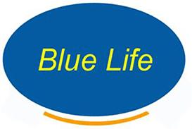 BLUE LIFE - LOGO