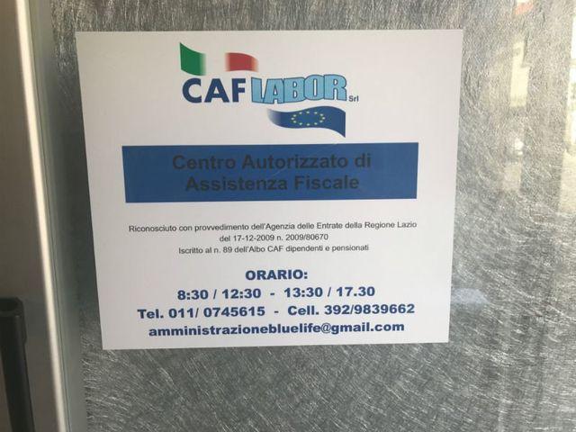 logo CAF labor centro autorizzato di assistenza fiscale