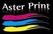 Aster print logo