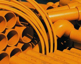 Plastic piping to replace your metallic pipes